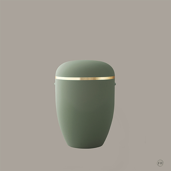 22408 Touch Groen m. guldkant