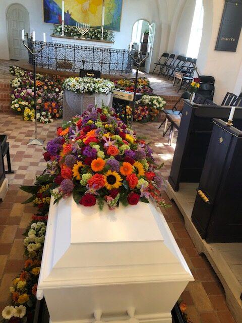 kiste, bedemand ringe, begravelsesforretning ringe
